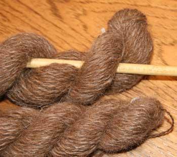 HS#8 Michele Handspun Llama Yarn